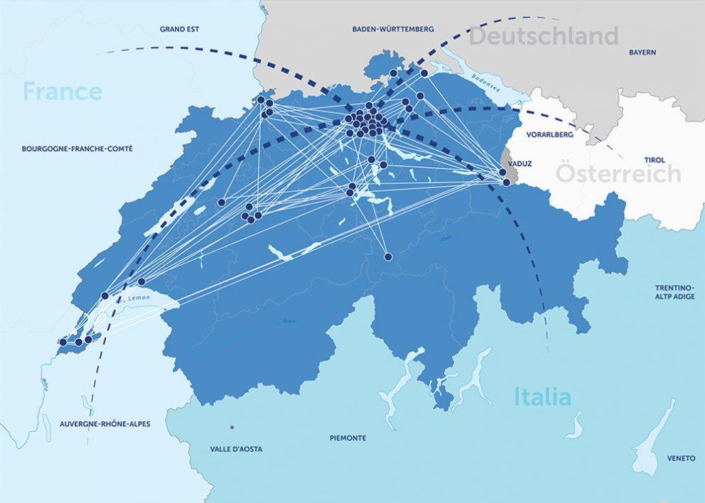GAS&COM Swiss Data Center Link