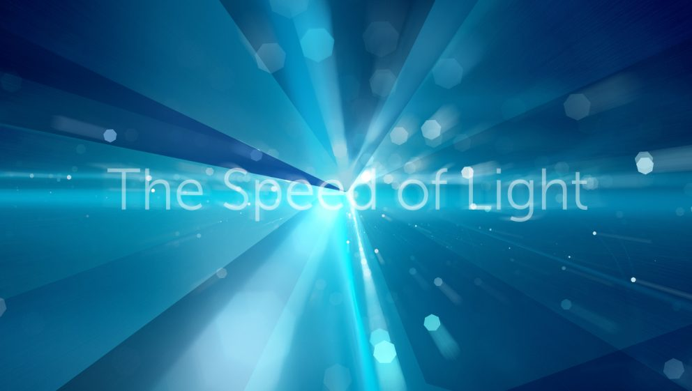 THE SPEED OF LIGHT GAS&COM