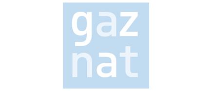 Logo GAZNAT Partner GAS&COM